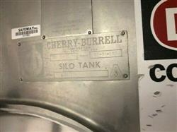 Image 5000 Gallon CHERRY BURRELL Jacketed Stainless Steel Silo with Side Mixer 1467571
