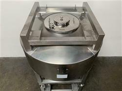 Image 1800 Liter LB BOHLE IBC Powder Blending Tank with Pneumatic Bottom Valve - Stainless Steel  1467911