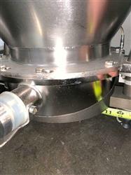 Image 1800 Liter LB BOHLE IBC Powder Blending Tank with Pneumatic Bottom Valve - Stainless Steel  1467915