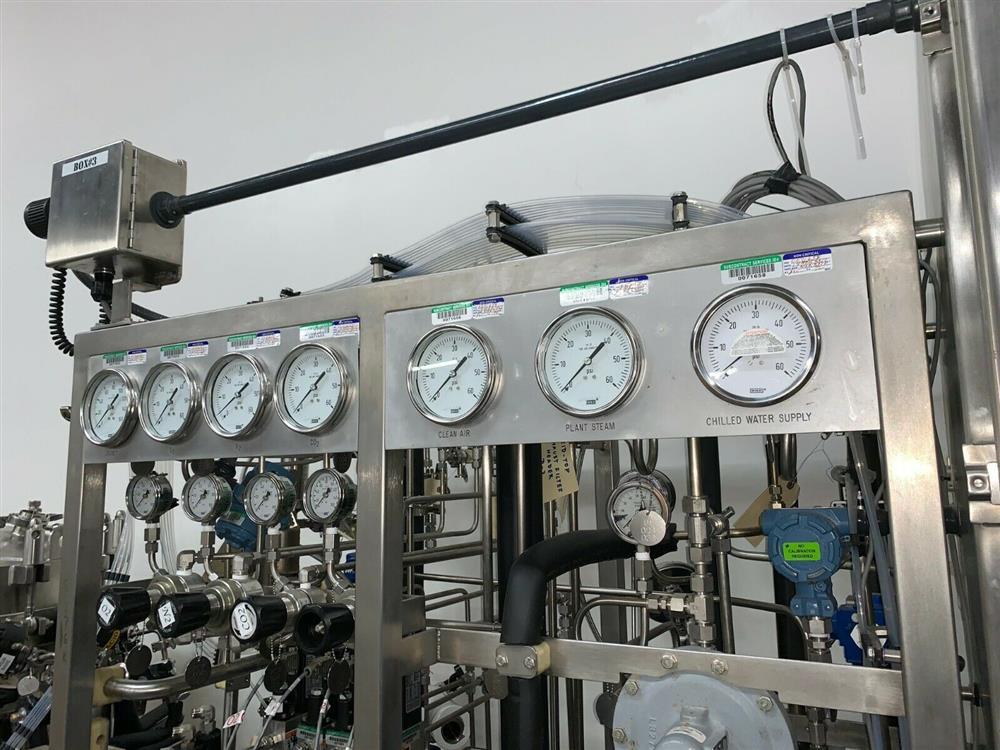 Image 300 Liter LEE Jacketed Bioreactor Skid with LEE INDUSTRIES Reactor - Stainless Steel 1483674