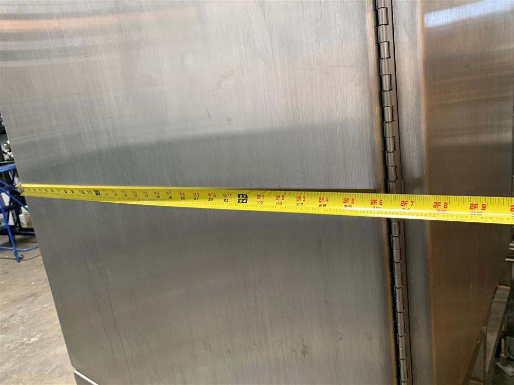 Image 300 Liter LEE Jacketed Bioreactor Skid with LEE INDUSTRIES Reactor - Stainless Steel 1486314