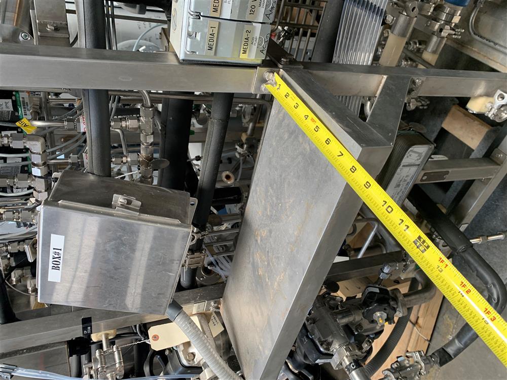 Image 300 Liter LEE Jacketed Bioreactor Skid with LEE INDUSTRIES Reactor - Stainless Steel 1486315