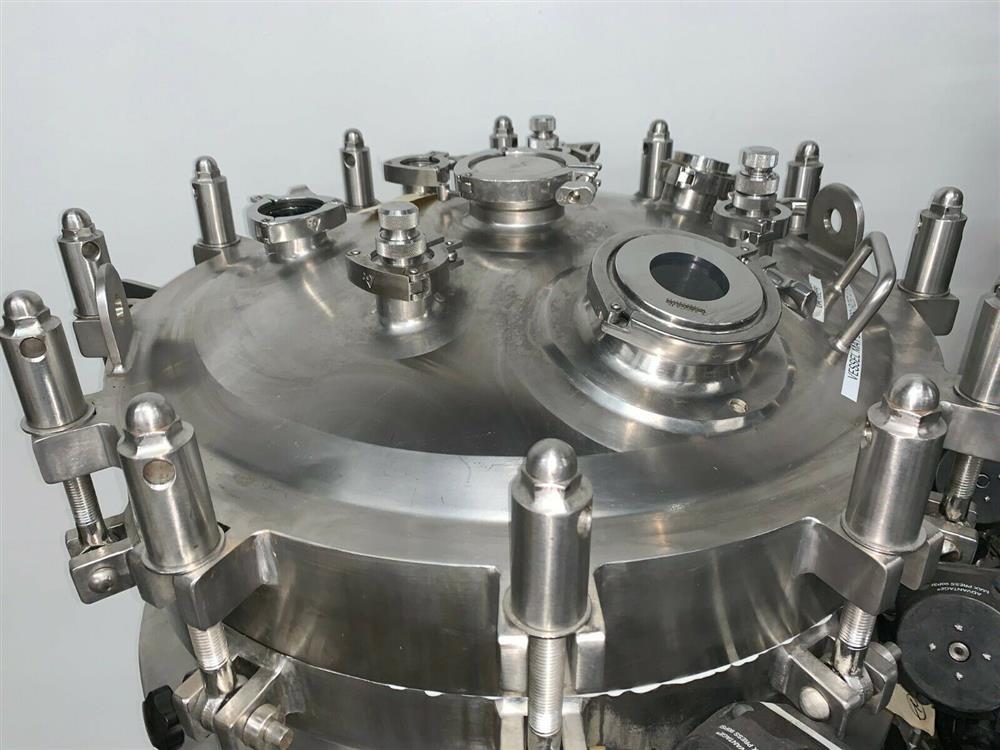 Image 300 Liter LEE Jacketed Bioreactor Skid with LEE INDUSTRIES Reactor - Stainless Steel 1468004