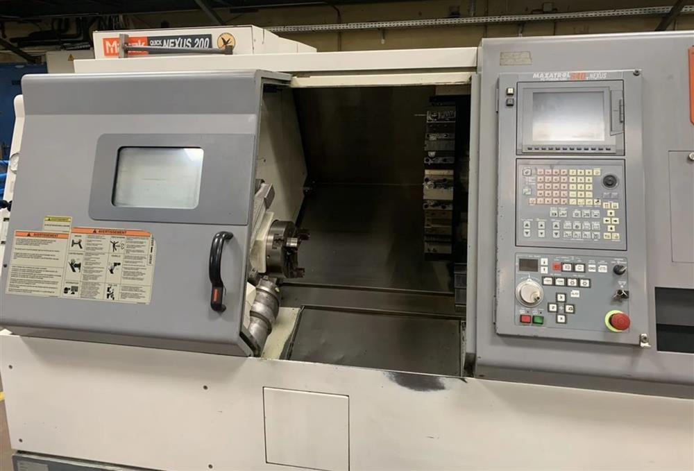Image MAZAK QUICK TURN NEXUS 200 CNC Lathe 1468028