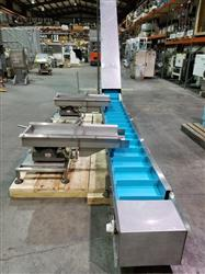 Image HEAT AND CONTROL Incline Four Product Feed Mixing Conveyor or Scales and Bagger Applications 1468385