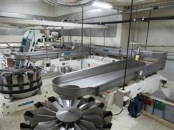 Image SMALLEY Vibratory Bulk Product Feed System to Feed Two Packaging Lines 1468397