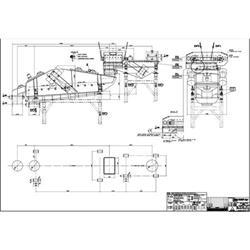Image IFE INDUSTRIES Shaker Separator Single Deck Conveyor - 39in x 12ft 1469222