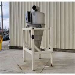 Image 36in KICE CKS36 LH Cyclone Separator - Stainless Steel  1469319