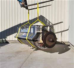 Image 100 Cu. Ft. Horizontal Double Ribbon Mixer - Jacketed, Stainless Steel 1469411