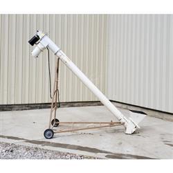 Image 8in Dia. X 7ft Tubular Screw Conveyor with PVC Auger 1469390