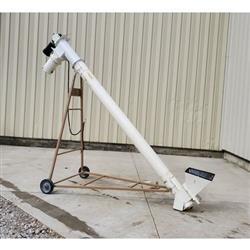 Image 8in Dia. X 7ft Tubular Screw Conveyor with PVC Auger 1469391