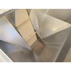 Image 12in W Cleated Incline Belt Conveyor - Stainless Steel 1469551