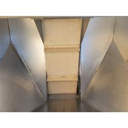 Image 12in W Cleated Incline Belt Conveyor - Stainless Steel 1469552