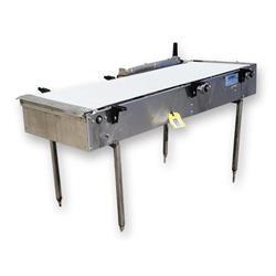Image 20in Wide Interlock Belt Conveyor - 20in W X 5ft Long 1469629