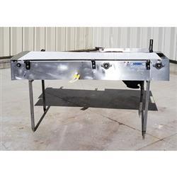 Image 20in Wide Interlock Belt Conveyor - 20in W X 5ft Long 1469631