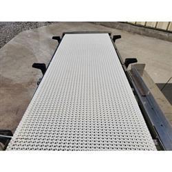 Image 20in Wide Interlock Belt Conveyor - 20in W X 5ft Long 1469633