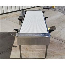 Image 20in Wide Interlock Belt Conveyor - 20in W X 5ft Long 1469634