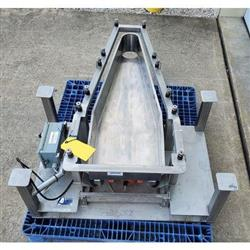 Image LGH INDUSTRIAL Vibratory Feeder - 14inW X 46inL, Stainless Steel 1469679