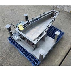 Image LGH INDUSTRIAL Vibratory Feeder - 14inW X 46inL, Stainless Steel 1469680