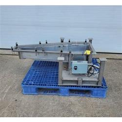 Image LGH INDUSTRIAL Vibratory Feeder - 14inW X 46inL, Stainless Steel 1469676