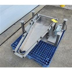 Image LGH INDUSTRIAL Vibratory Feeder - 14inW X 46inL, Stainless Steel 1469677