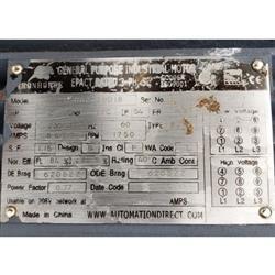 Image 9in Dia. WAM INC. Mild Steel Center Discharge Screw Feeder Conveyor 1469657