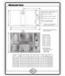 Image REED Oven Revolving Bakery Oven - Model 8-26x128 1469692