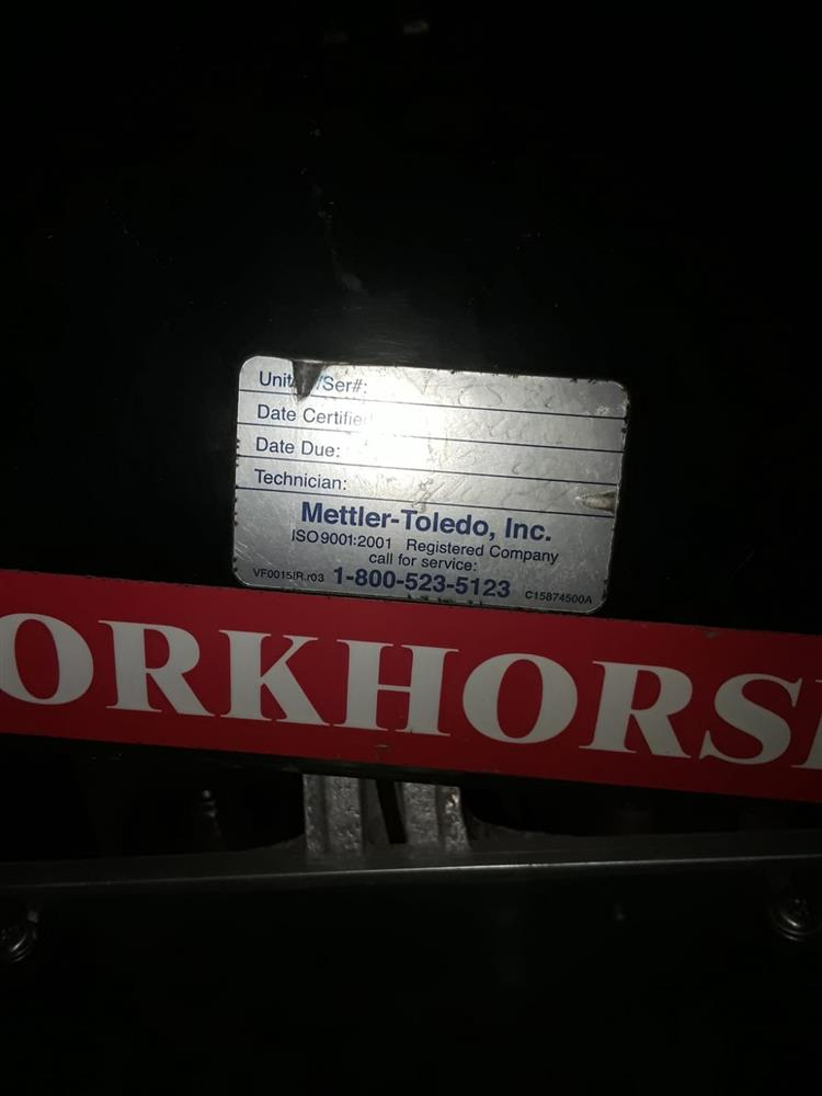 Image METTLER TOLEDO Exact Workhorse Automatic Stretch Wrapper 1470166