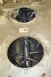 Image 120 Cu.Ft. S. HOWES Ribbon Blender - Stainless Steel 1470245