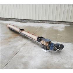 Image Tubular Drop-Bottom Screw Conveyor - 7in Dia. X 11ft-9in 1471817