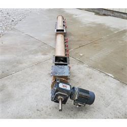 Image Tubular Drop-Bottom Screw Conveyor - 7in Dia. X 11ft-9in 1471819