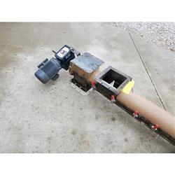 Image Tubular Drop-Bottom Screw Conveyor - 7in Dia. X 11ft-9in 1471867
