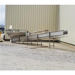 Image Conveyor without Belt or Drive - Parts, Stainless Steel 1471851