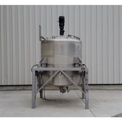 Image 750 Gallon WALKER Weigh Batch Mix Tank Processor - 316 Stainless Steel 1471901