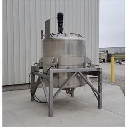 Image 750 Gallon WALKER Weigh Batch Mix Tank Processor - 316 Stainless Steel 1471902