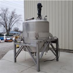 Image 750 Gallon WALKER Weigh Batch Mix Tank Processor - 316 Stainless Steel 1471903
