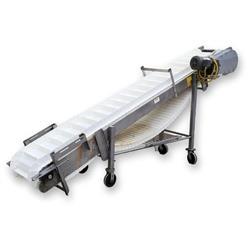 Image Incline Plastic Link Belt Conveyor - Stainless Steel 1471905