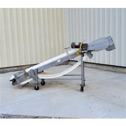 Image Incline Plastic Link Belt Conveyor - Stainless Steel 1471906