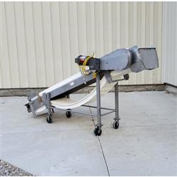 Image Incline Plastic Link Belt Conveyor - Stainless Steel 1471907
