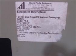 Image CONAIR FRANKLIN Powerful Dual Vacuum Conveying System Controls and Vacuum Pump 1472041