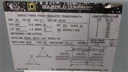 Image SQUARE D Sorgel Three Phase Insulated Transformer 1472347