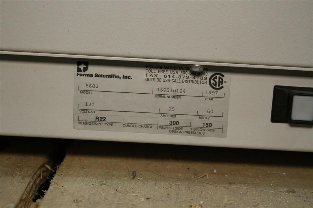 Image FORMA SCIENTIFIC Refrigerated Centrifuge - Model 5682 1472673