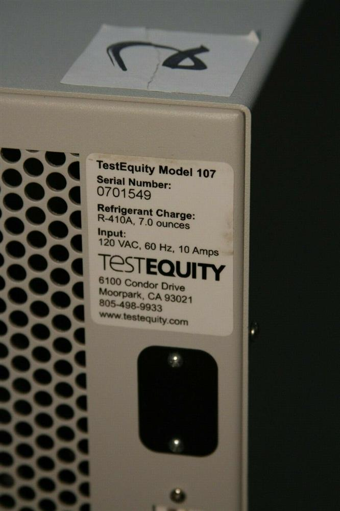 Image TESTEQUITY Temperature Chamber - Model 107 1472722