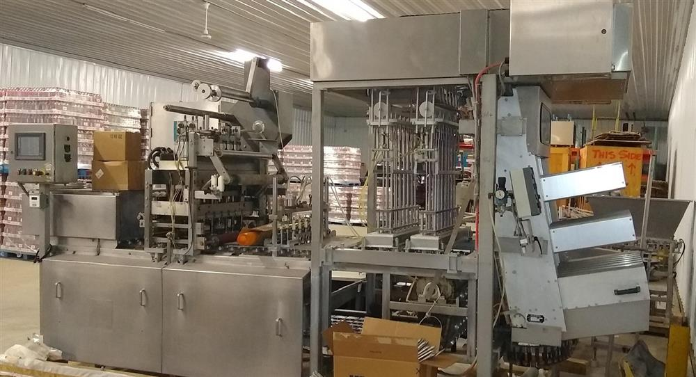 Image High Speed Cup Filling Line for 75mm Juice Cups 1472847