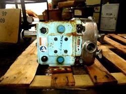 Image 1.5in WAUKESHA 030 Positive Displacement Pump - Sanitary Stainless Steel 1473132