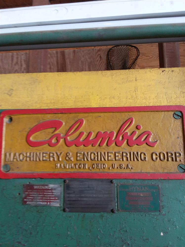 Image COLUMBIA MACHINERY & ENGINEERING CORP. Shear 1473842