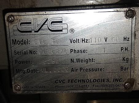 Image CVC 400 Front and Back Labeler 1473860