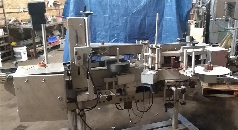 Image CVC 400 Front and Back Labeler 1473861