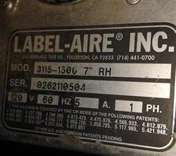 """Image LABEL-AIRE 3115 Labeler - 7"""" 1473871"""