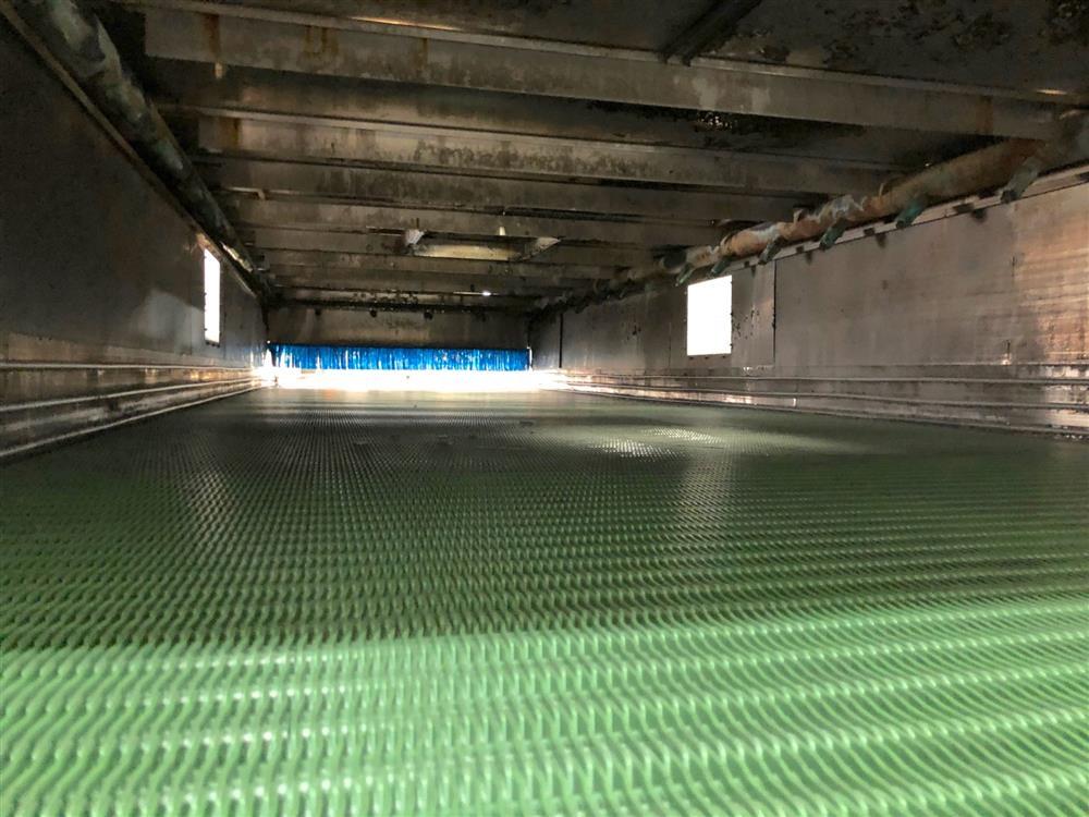 Image SJI Bottle Warmer / Cooling Tunnel - 8ft X 28ft, Stainless Steel 1474539